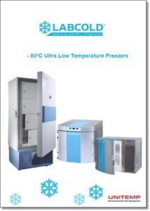 -80ºC Ultra Low Temp Freezers - brochure
