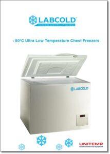 -80ºC Ultra Low Temp chest Freezers - brochure