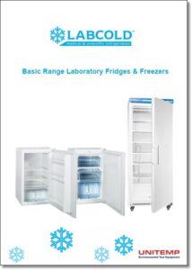 Basic range Lab Fridges - Lab Freezers - brochure