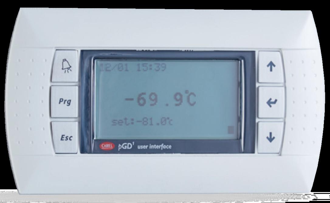 -80ºC ULT Freezer Digital Controller