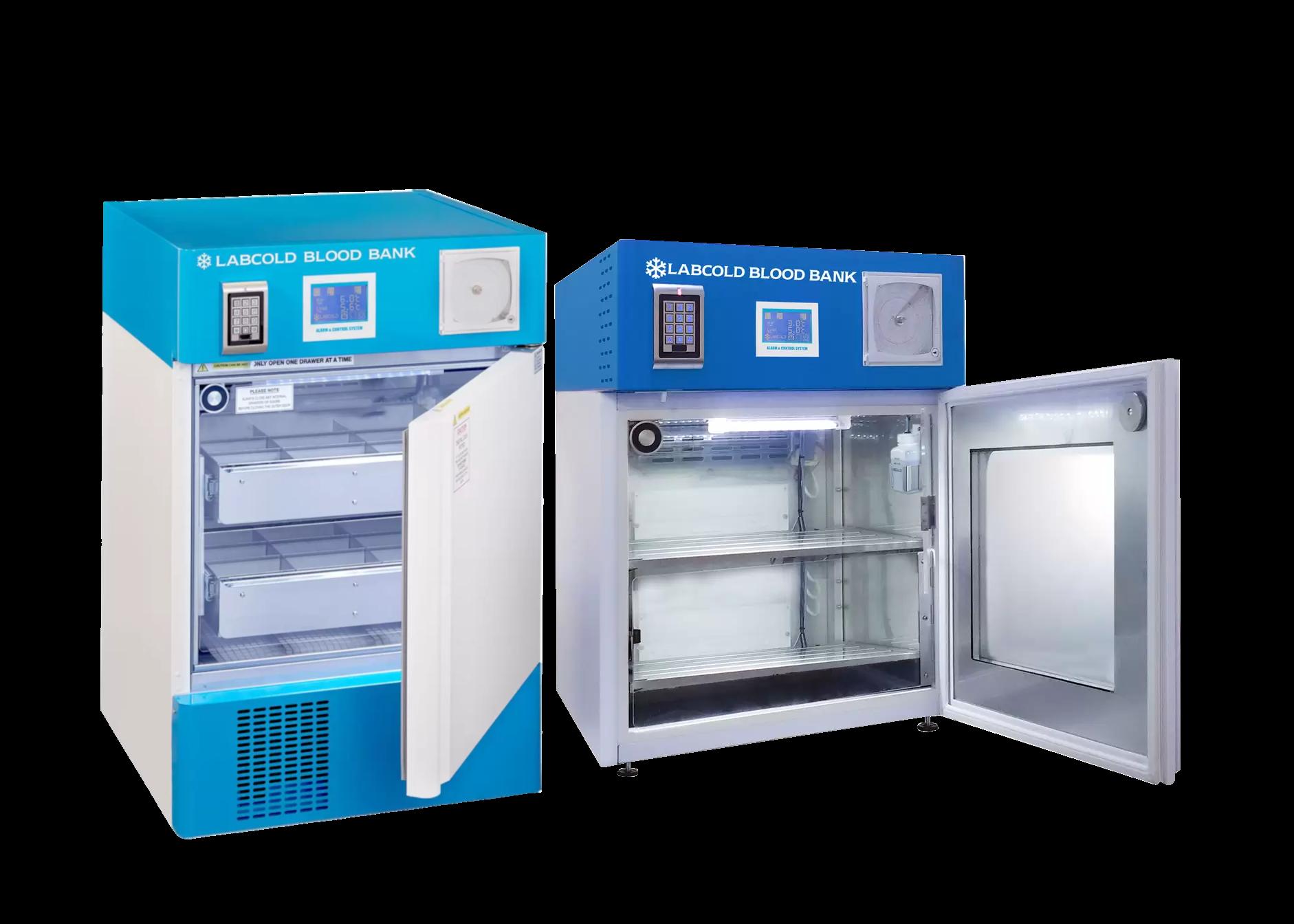 compact blood bank refrigerators